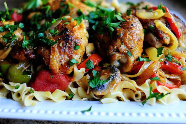 Chicken Cacciatore: Dinner, Chicken Recipes, Pioneer Woman Chicken, The Pioneer Woman, Food, Savory Recipes, Chicken Hunter