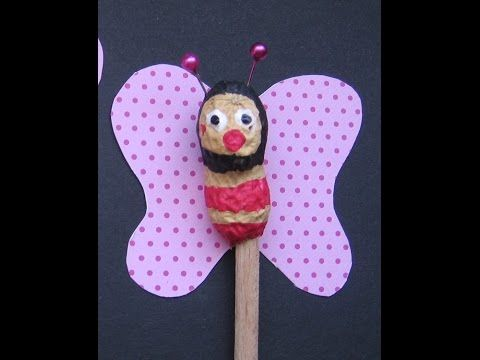 Schmetterling Blumenstein er aus Erdnuss