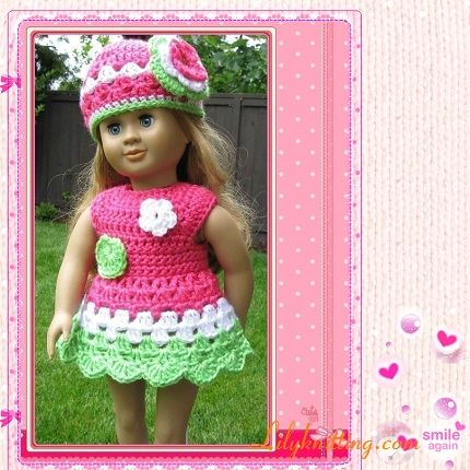 439 Best American Girl Doll Crochet Patterns Images On Pinterest