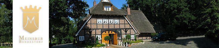 Meinsbur - Restaurant und Hotel in der Lüneburger Heide, Nähe Hamburg, Buchholz in der Nordheide & Jesteburg - stilvolle Tradition