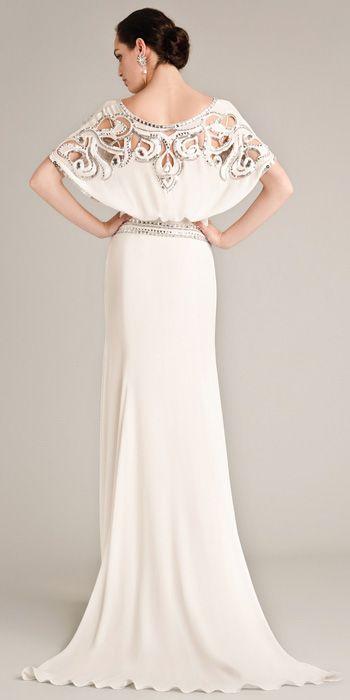 Un #vestido de #novia de Temperley Bridal 2015 para quitar el hipo