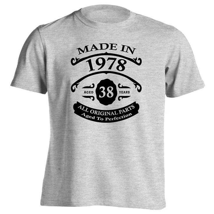 Mens 38th Birthday T-Shirt