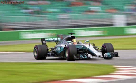 Formuła 1: Hamilton i Raikkonen najszybsi na treningach przed Grand Prix Kanady