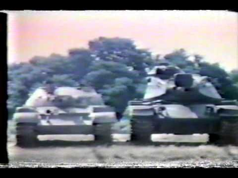 How to Fight the Soviet T-64 and T-72 Tanks. American Cold War training video.