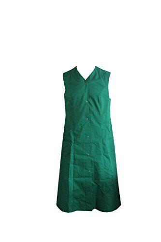 Damen Kasack Gr 38 / 65 % Polyester 35 % Baumwolle Kittel Arbeitskittel