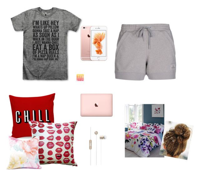 """Chill n netflix"" by wins04 on Polyvore featuring moda, adidas, Kahri by KahriAnne Kerr y Bluebellgray"