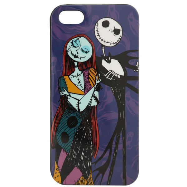 The Nightmare Before Christmas Jack & Sally iPhone 5 Case | Hot Topic (220 ZAR) ❤ liked on Polyvore featuring accessories, tech accessories, phone cases, phones, electronics and cases