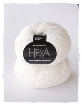 Hexa / du store alpakka - versponnenes