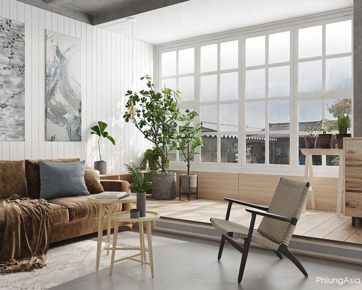綠意盎然的家居空間設計 | MyDesy 淘靈感
