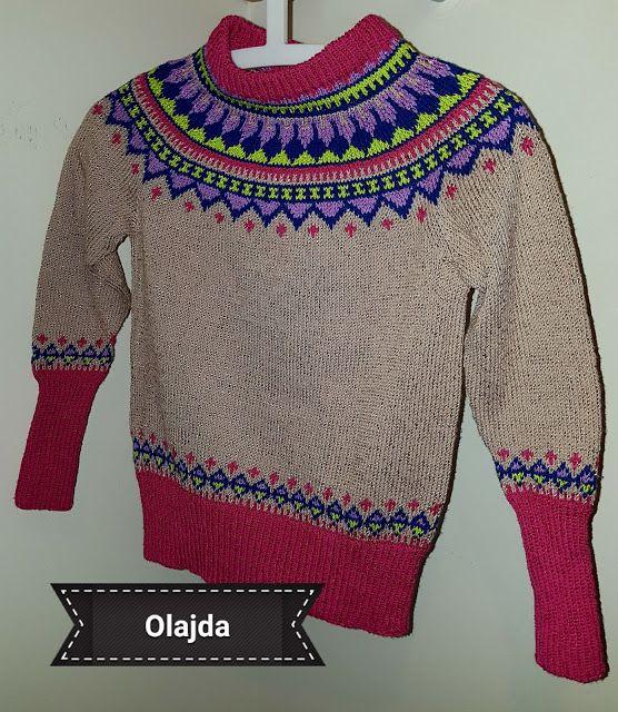 "Aleksandra above the Arctic Circle 69° 40' 33"" N, 18° 55' 10"" E: 770. Eskimo sweater"