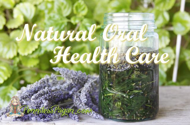 Natural Oral Health Care from Penniless Pagan. #natural #medicine #alternative