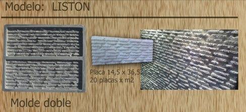 Moldes para fabricación de pisos y revestimientos