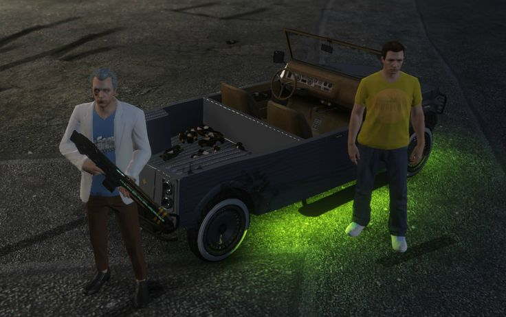 Rick and Morty in GTA Online