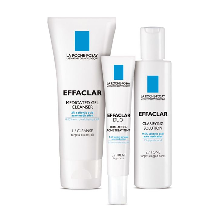 This Best of Beauty–winning La Roche-Posay skin-care system clears and controls acne-prone skin through three steps—cleanser, toner, and spot treatment—and is gentle enough for even the most sensitive skin.