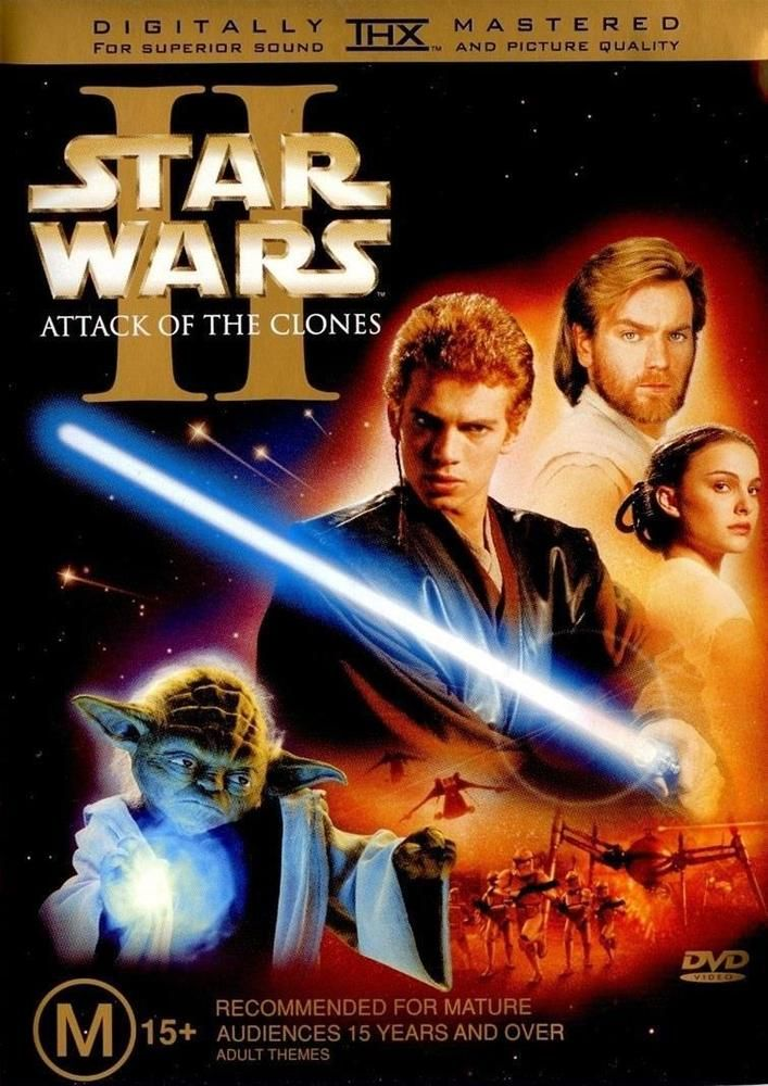 Star Wars 2: Attack Of The Clones (DVD, 2002, 2 Disc Version) As New Condition #DVD #Movies #StarWars