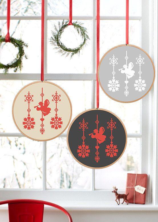 Christmas  PDF Cross Stitch Pattern Angel by NikkiPattern on Etsy