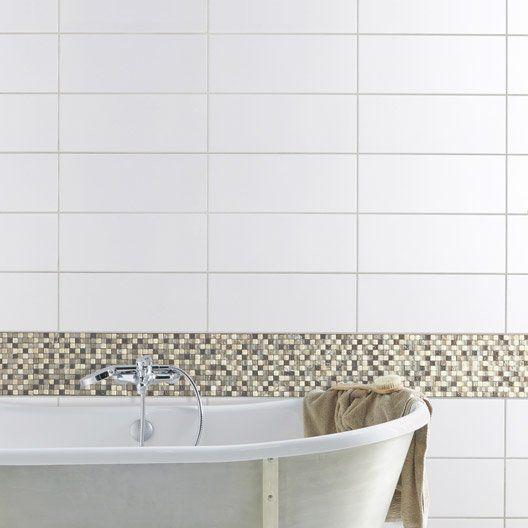 White Tiles 20 X 50 Cm