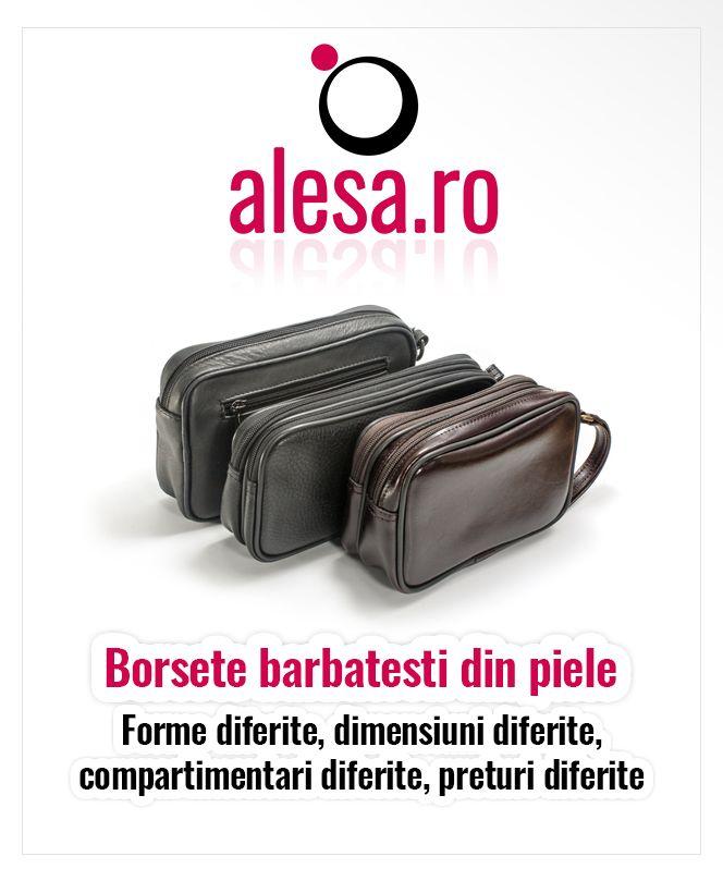 O colectie minunata de borsete din piele pentru barbati te asteapta pe Alesa.ro