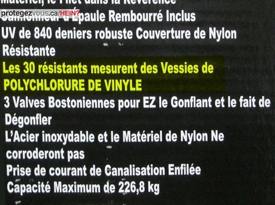Nous sommes 30, nous sommes résistants et nous sommes ici pour mesurer des vessies en polychlorure de vinyle. Des questions?