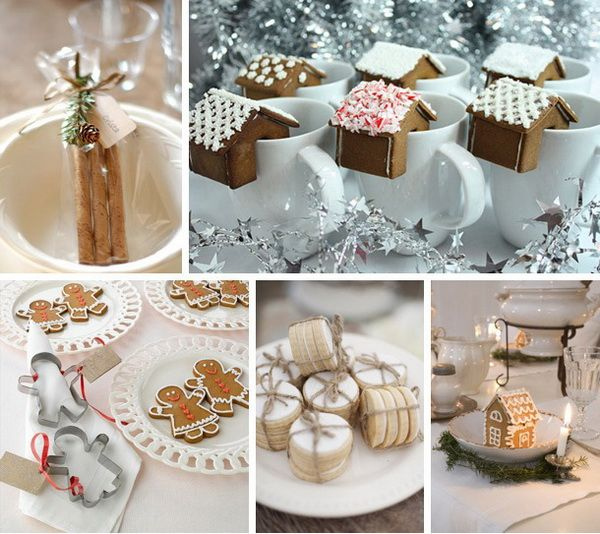 Top 10 Winter Wedding Favours Biscuits Image Sources Clockwise From Left Frog Goes To Market Mari Eriksson Via Ikea Christa Elyce Serendip