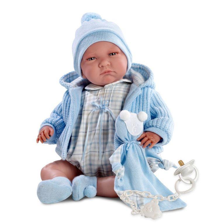 Bebé realista de juguete llorens