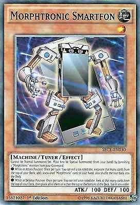Original Konami YuGiOh Trading Card aus Secrets of Eternity.  SECE-EN030  Morphtronic Smartfon (Morphtronisches Smartfon) Seltenheit: Common - 1st Edition  GBA-Code: 15521027 | Jetzt günstig bei eBay kaufen!