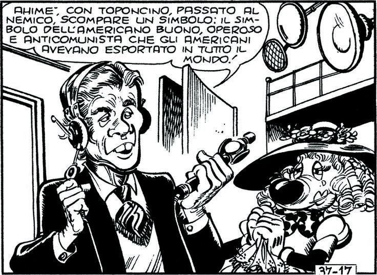 ITALIAN COMICS - La contestazione di Topolino reduce dal Vietnam 3