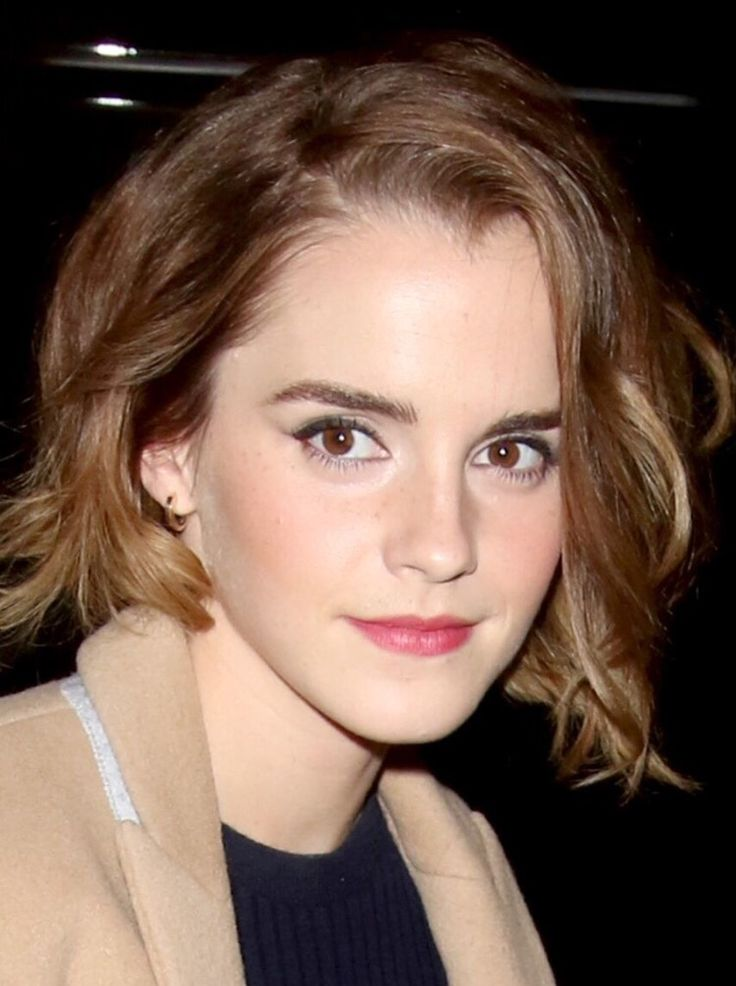 Emma watson short hair can