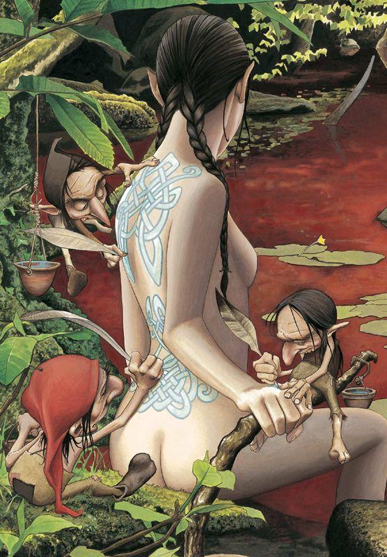 "Bruno Brucero art:""The tattoo parlor"""