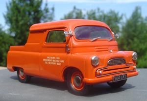 Not a car but worth a place on the board. This is a 1960 Bedford CA canopy pick up.