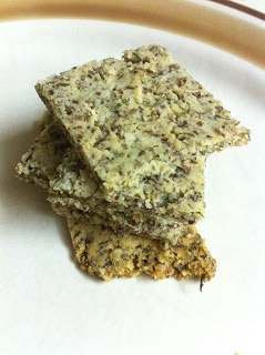 Savory Almond Crackers (Raw, Vegan, Dairy Free, Grain Free, Vegetarian, Low-Carb, Gluten Free) | Skinny Fit Chick