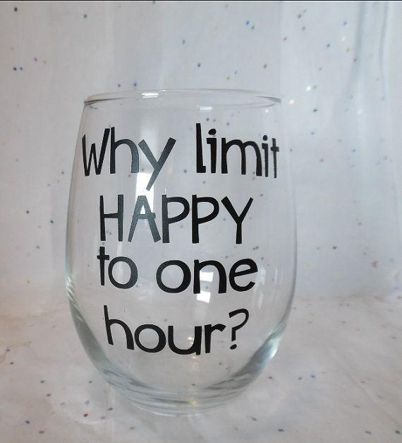 For when you need a pick-me-up at any time of the day. | 21 Wineglasses That Understand Your Struggle