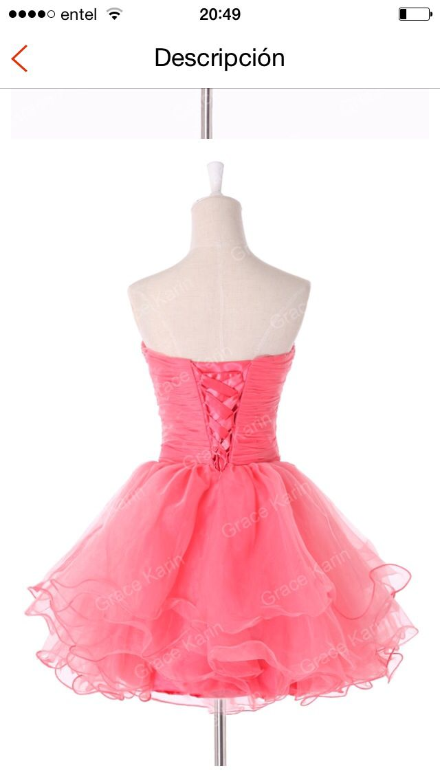 Fashionable Real Grace Karin Watermelon Short Prom Mini Beaded and Sequins Ball Dresses