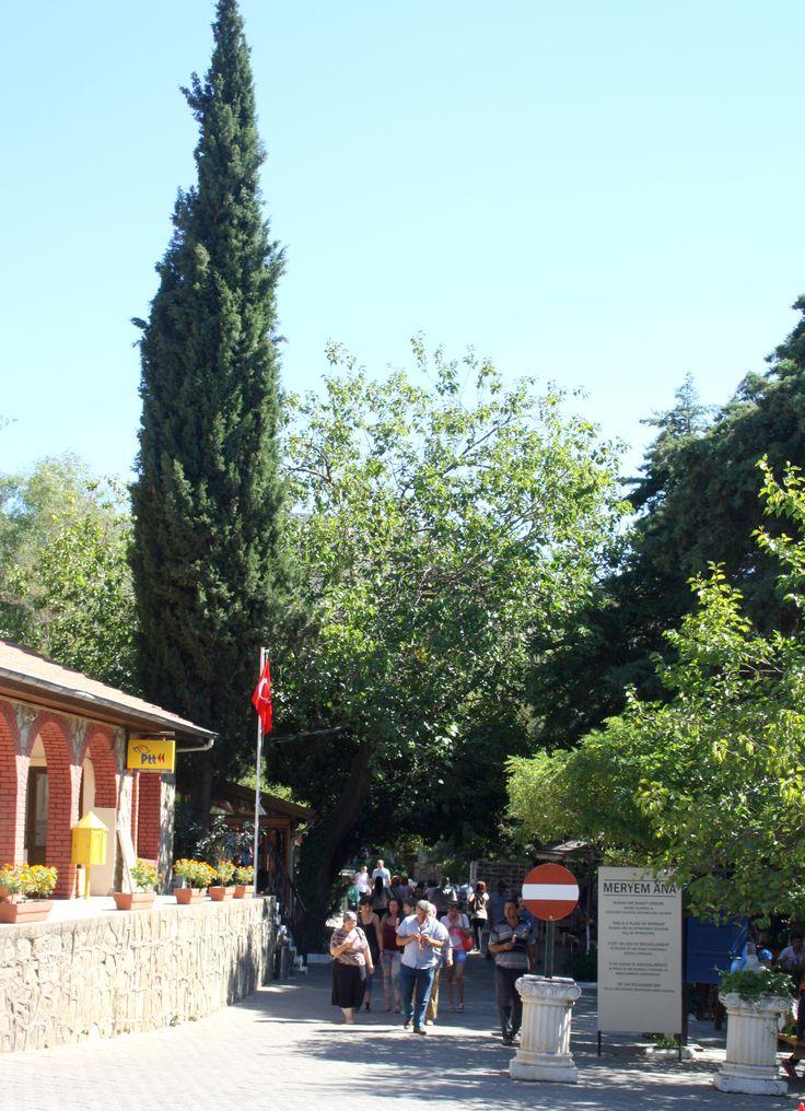 Meryem ana evi girişi. Selçuk - İzmir (Entrance Virgin Mary house)