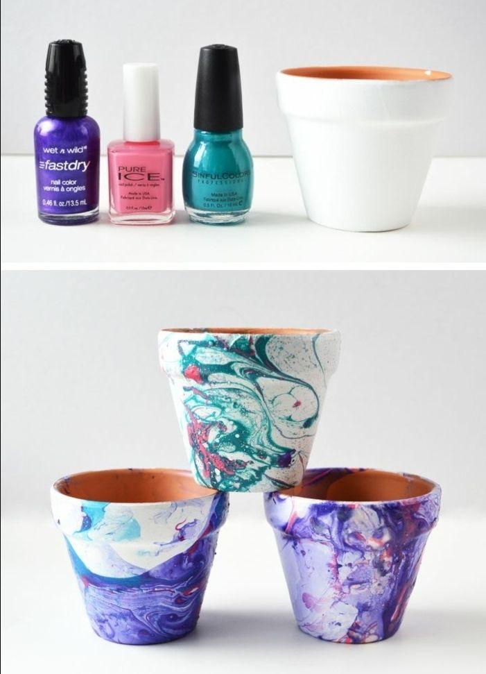 25+ Best Ideas About Blumentöpfe Selber Machen On Pinterest ... Blumentopf Design Deko Selberbasteln