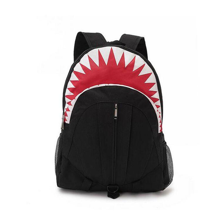 $21.09 (Buy here: https://alitems.com/g/1e8d114494ebda23ff8b16525dc3e8/?i=5&ulp=https%3A%2F%2Fwww.aliexpress.com%2Fitem%2FBrand-New-Fashion-Women-Shark-Backpacks-Student-School-Bag-for-teenagers-business-Rucksack-Travel-laptop-Canvas%2F32576193592.html ) Brand New Fashion Women Shark Backpacks Student School Bag for teenagers business Rucksack Travel laptop Canvas bags Li52 for just $21.09