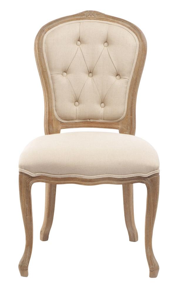 Adeline French Provincial Dining Chair - Matt Blatt
