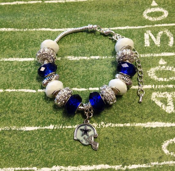 Dallas Cowboys Bracelet on Etsy, $35.00