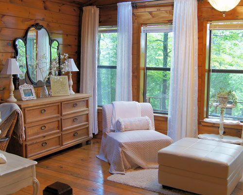 Our FAVORITE place to go to get away... Deer Ridge - Eagle Creek Escape - Oklahoma Cabin Rentals Couples Only