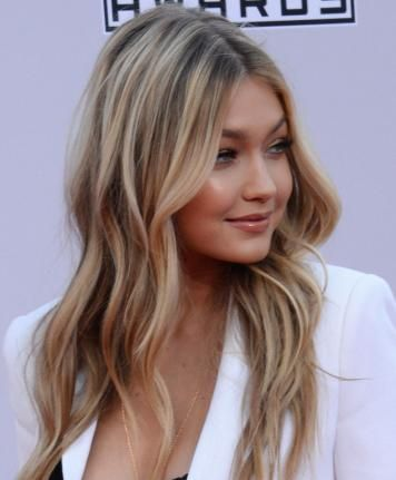 Gigi Hadid hair color