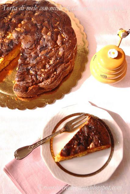 Ricordi e Tradizioni: Torta di mele con miele di castagno e mandorle