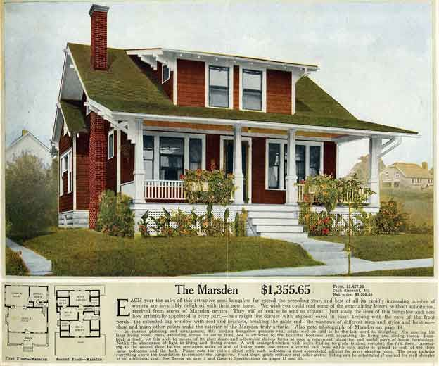 1900s House Plans