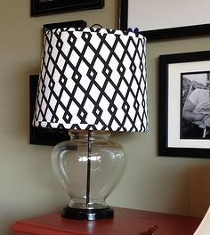 thrift store lamp makeover w diy fabric covered shade, crafts, home decor, Thrift Store Lamp Makeover