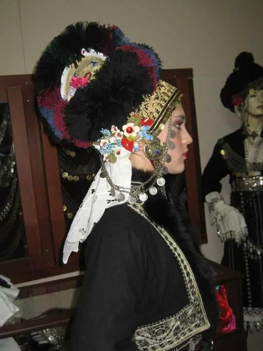 Macedonian Traditional Bridal Costume of Imathia, historical Macedonia, northern Greece