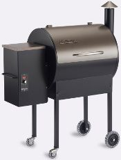 The Traeger Lil' Tex Elite.   A perfect large surface smoker which I intend to compete with this Barbeque Season!