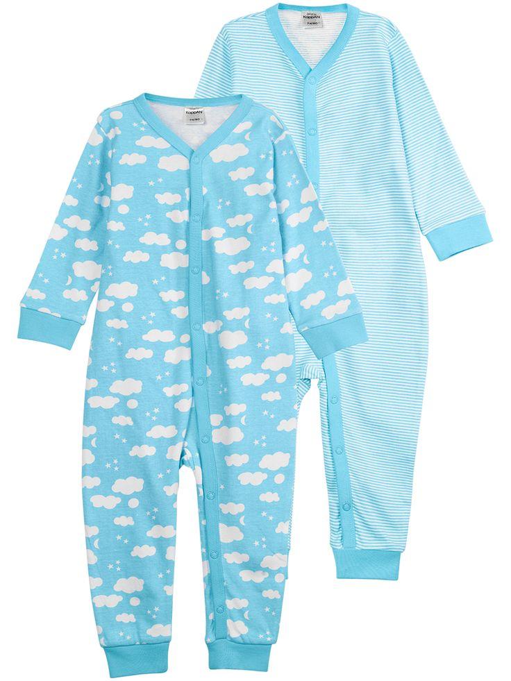 2-pk pyjamas, Blå, Kids - KappAhl