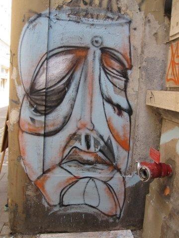 Arte callejero Cerro Concepción, Valparaíso