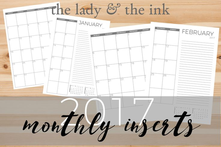 YAY! My first A5 inserts are out! These ones are pretty simple, minimalistic. They are very much like my old bullet journal, so I thought that it would be nice to work on them first, since the desi…