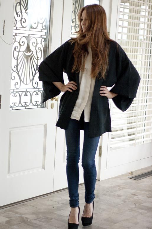 Love a good Kimono.Cardigans, Fashion Beautiful, Tops Heavy, Covet Clothing, Style 2828, Long Sweaters, Diversity A Lici Sweaters, Diversealici Sweaters, Vintage Kimonos Jackets