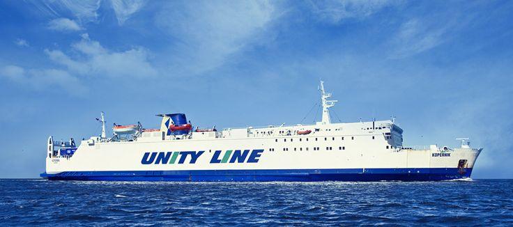 #unityline #prom #ferry #kopernik #sea #poland #sweden #świnoujście #szczecin #ystad